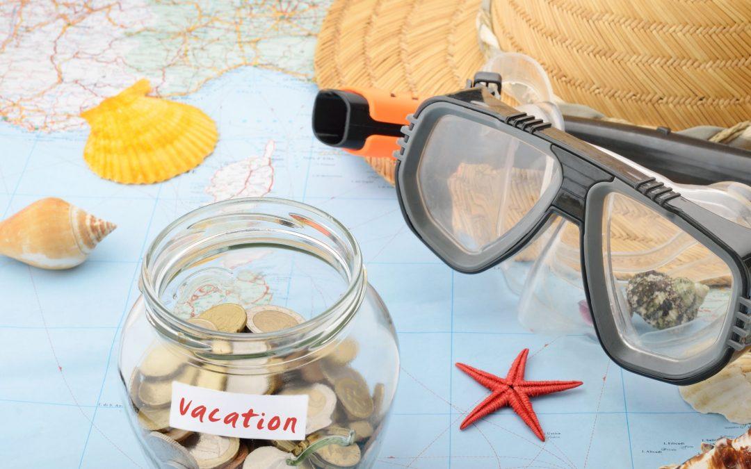 budget vacation savings jar