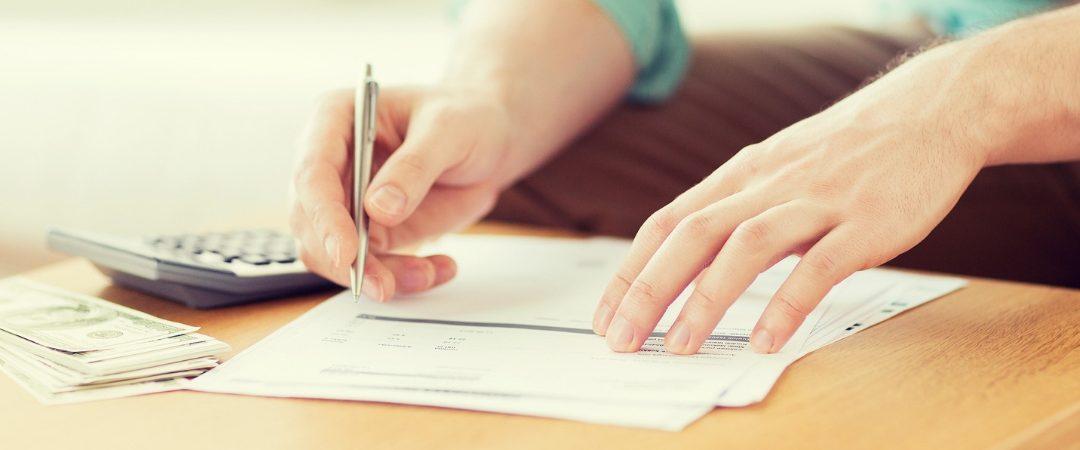 Hand writing on document