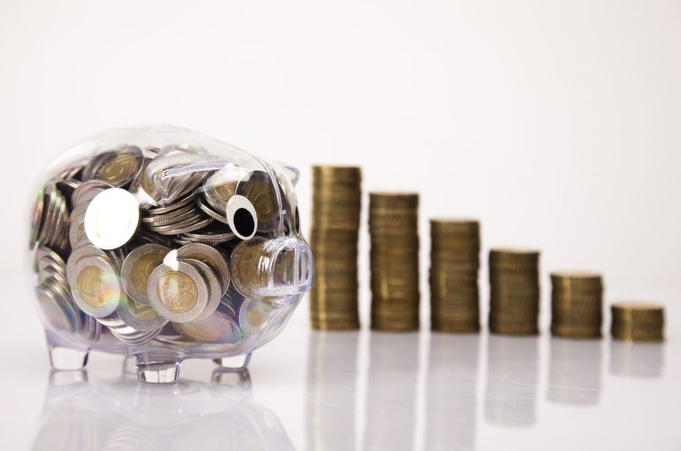 Piggy bank representing savings